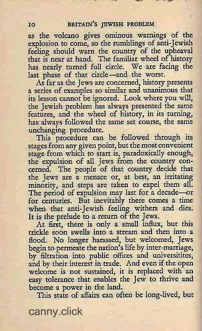 Britain's Jewish Problem P2