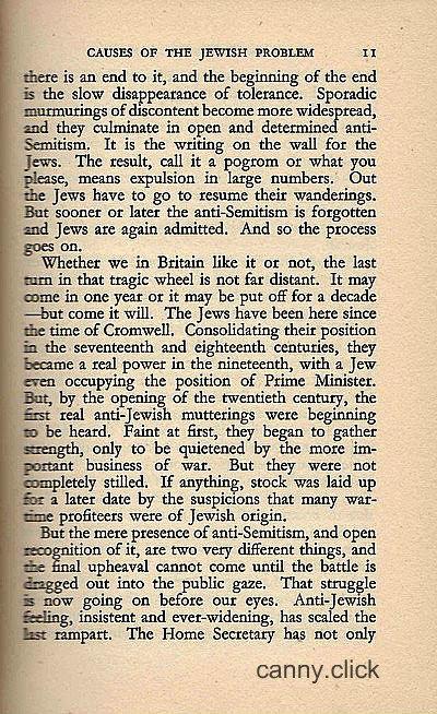 Britain's Jewish Problem P3