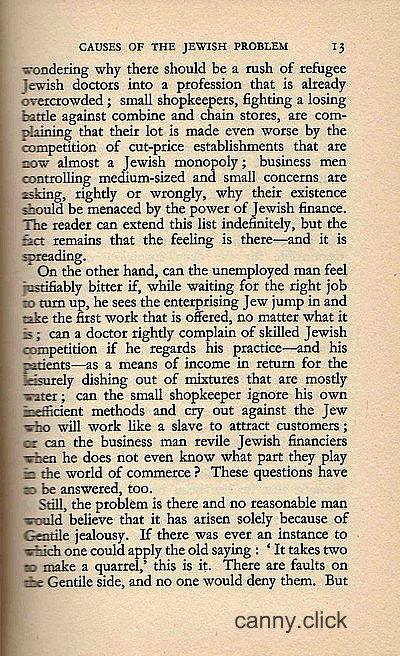 Britain's Jewish Problem P5