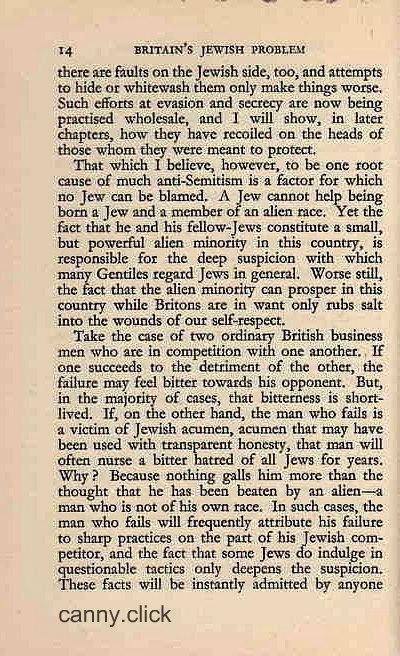 Britain's Jewish Problem P6