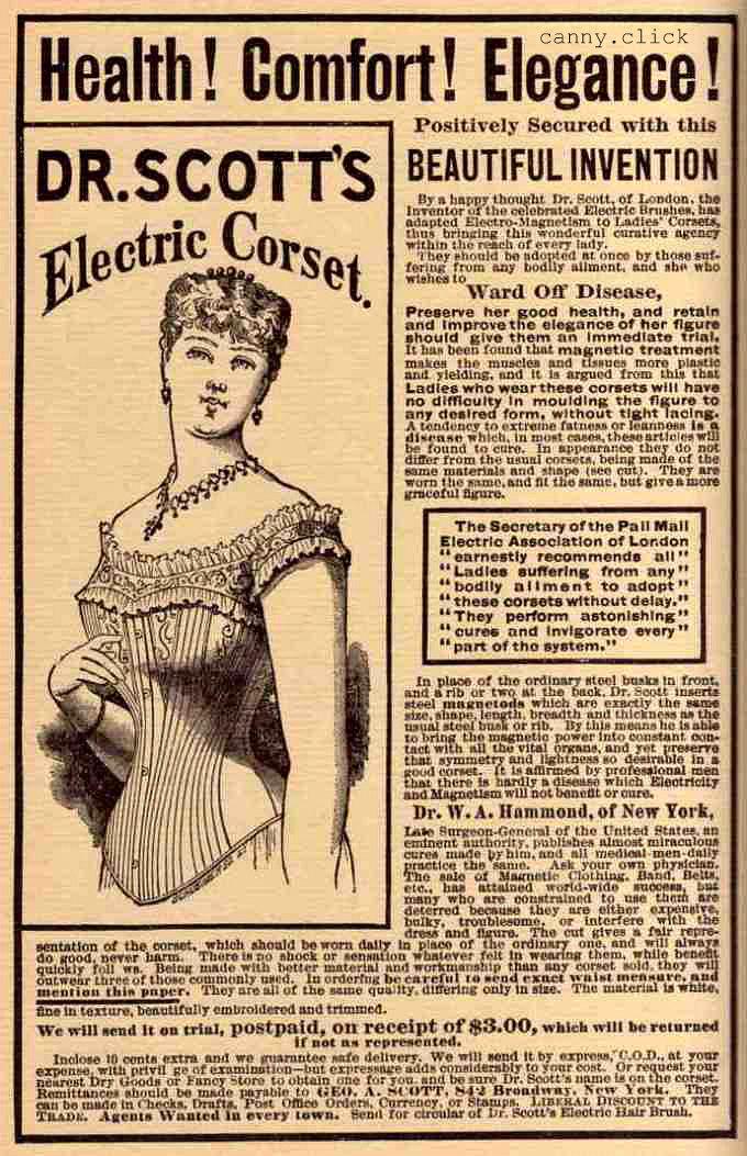 Electric corset