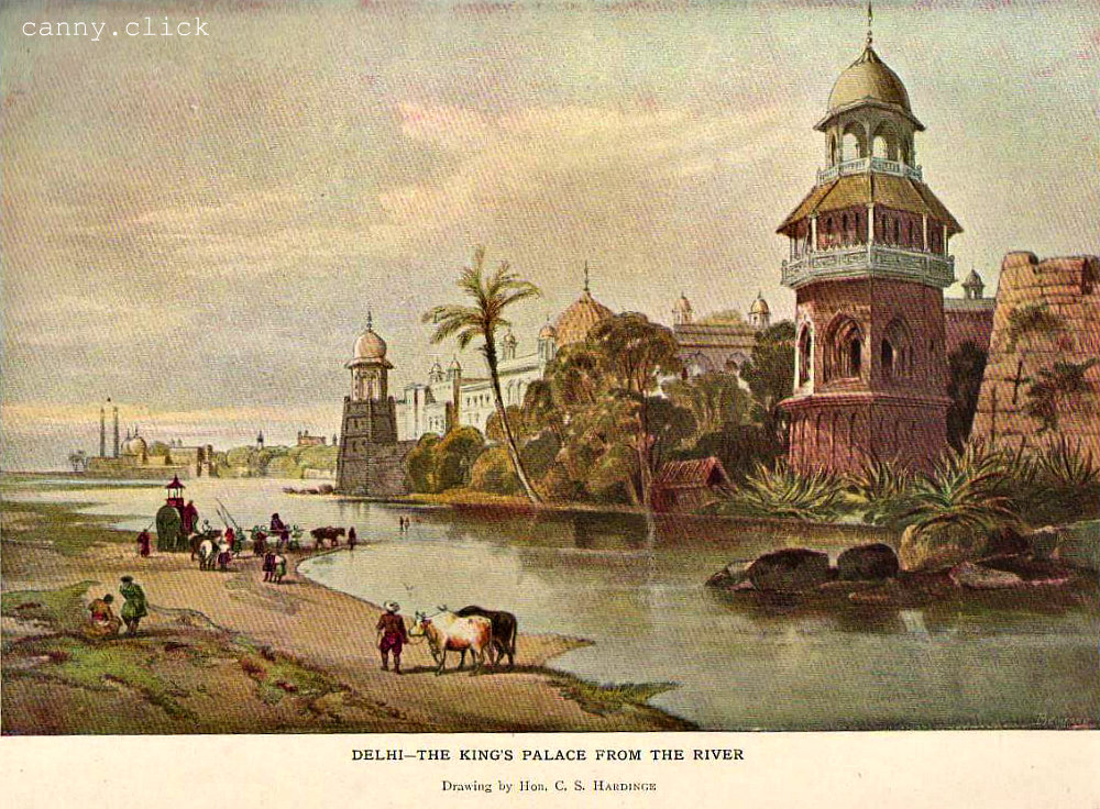 Delhi from the River Yamuna