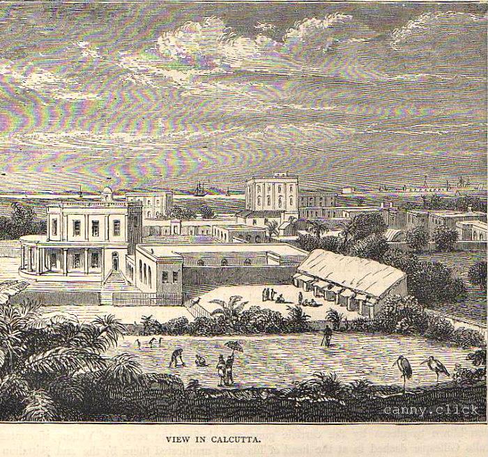 View in Calcutta