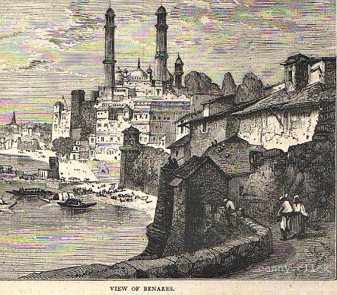 View of Benares