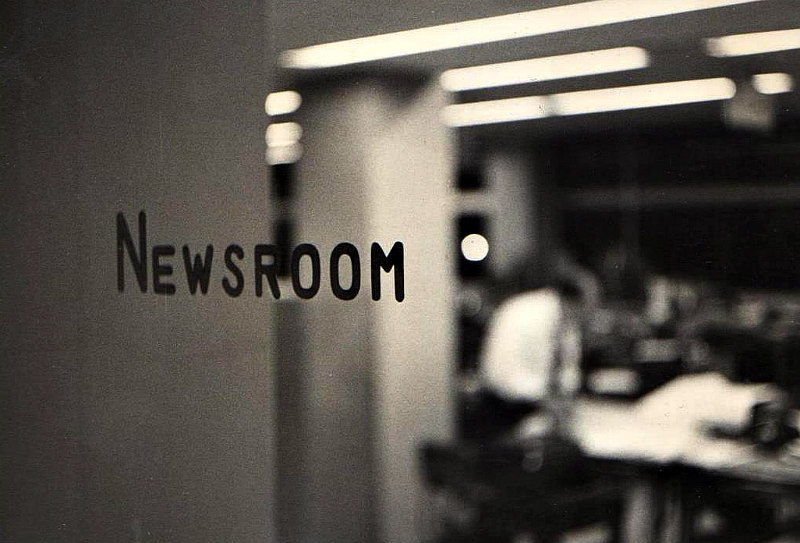 The Japan Times newsroom, 1966