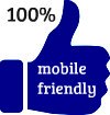 100% mobile friendly