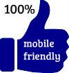 100% mobile friendly