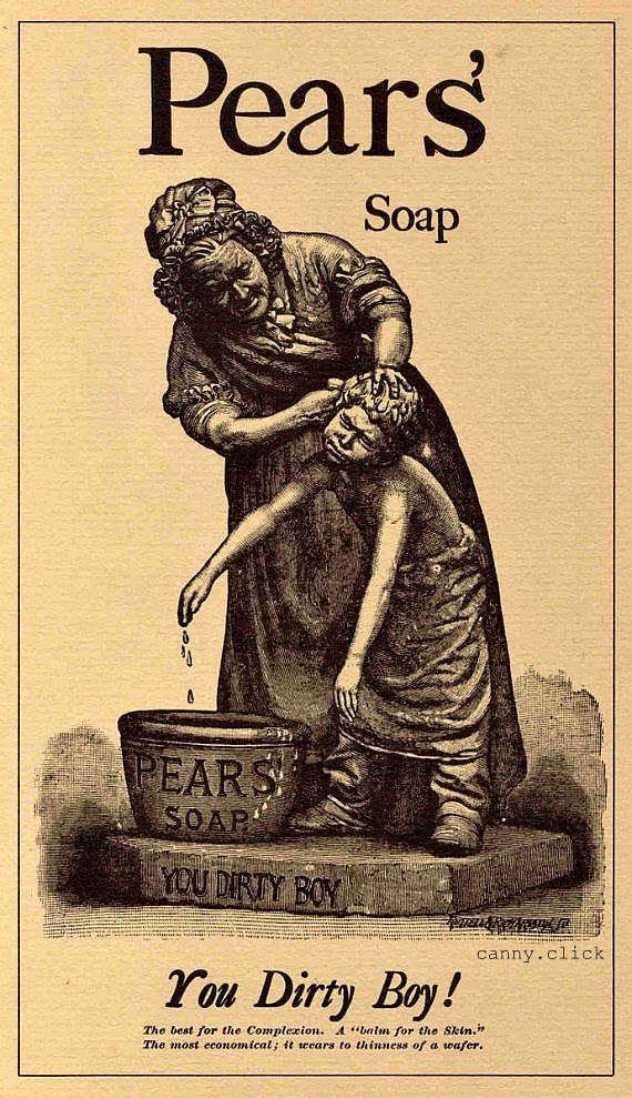 Pears' Soap advertisement
