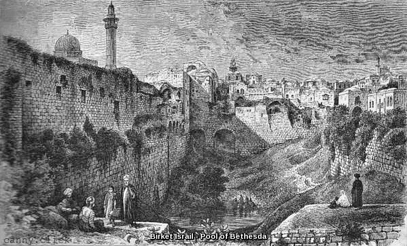 Birket Israil - Pool of Bethesda