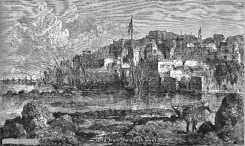 Jaffa, from the south-west