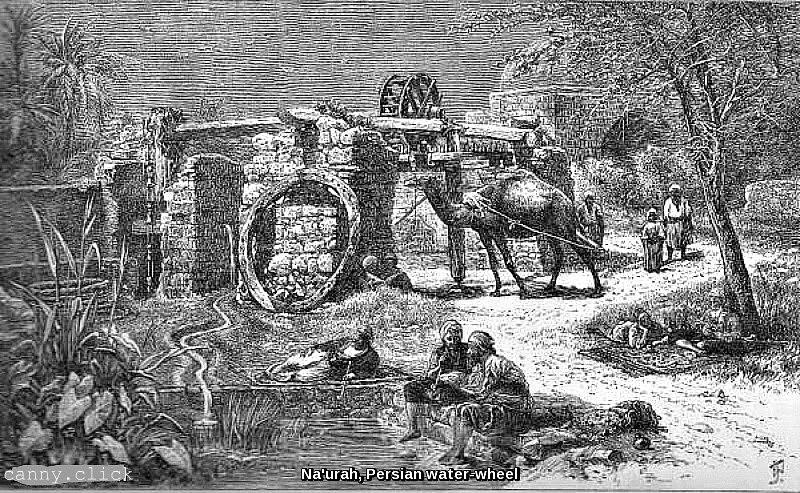 Na'urah, Persian water-wheel