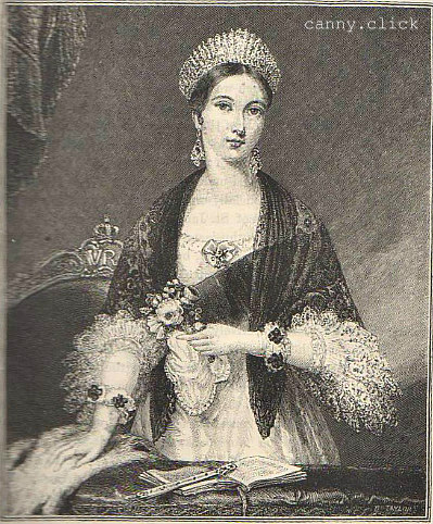 Queen Victoria at the time of her accession
