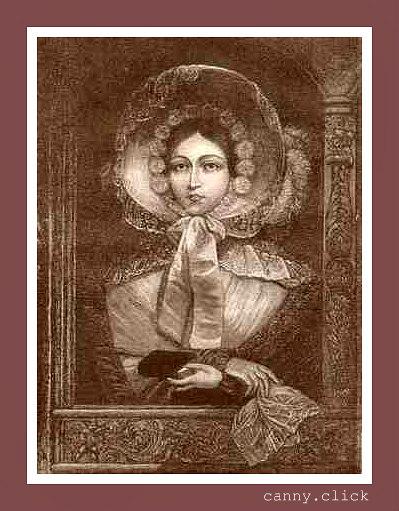 Queen Victoria in bonnet
