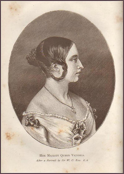 Queen Victoria's hairstyle
