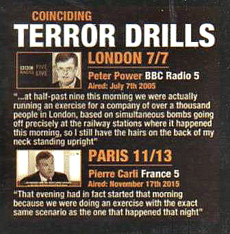 Panel from Chronicles of False Flag Terror