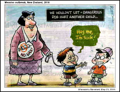 Measles cartoon